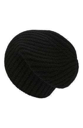 Мужская кашемировая шапка SVEVO черного цвета, арт. 0188SA19/MP01/2 | Фото 2