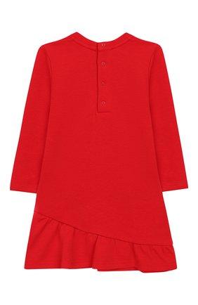 Женский хлопковое платье MARC JACOBS (THE) красного цвета, арт. W02129 | Фото 2