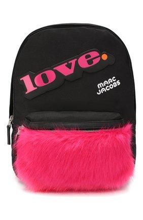 Детская рюкзак MARC JACOBS (THE) черного цвета, арт. W10141 | Фото 1