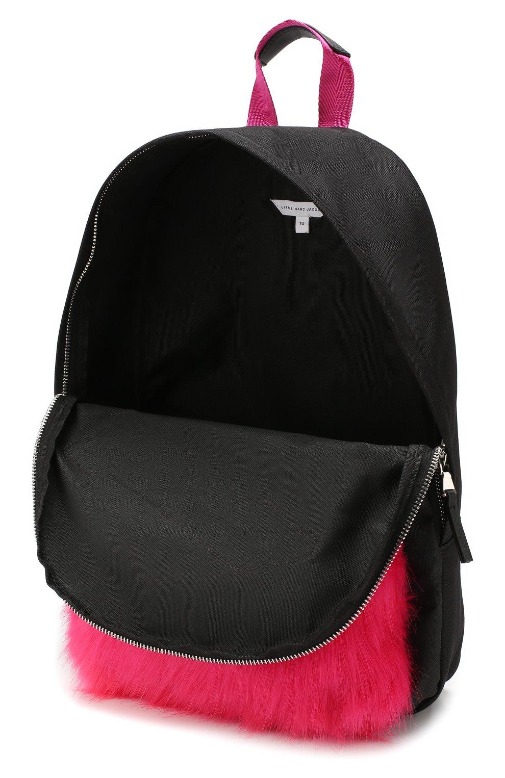 Детская рюкзак MARC JACOBS (THE) черного цвета, арт. W10141 | Фото 3