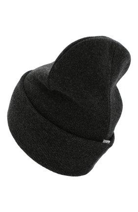 Детского шапка из шерсти и кашемира IL TRENINO темно-серого цвета, арт. 19 6408/LR | Фото 2