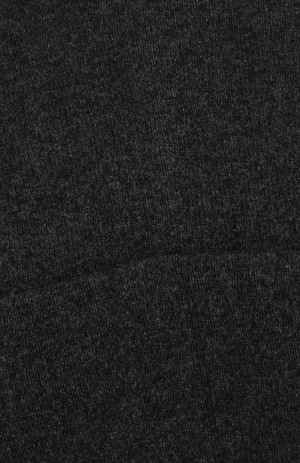 Детского шапка из шерсти и кашемира IL TRENINO темно-серого цвета, арт. 19 6408/LR | Фото 3