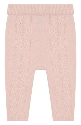 Детские кашемировые брюки LORO PIANA светло-розового цвета, арт. FAI7293 | Фото 1