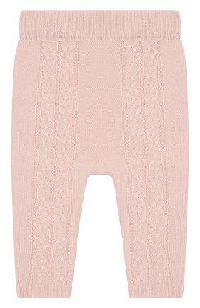 Детские кашемировые брюки LORO PIANA светло-розового цвета, арт. FAI7293 | Фото 2