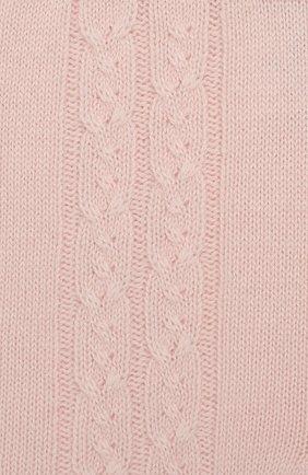 Детские кашемировые брюки LORO PIANA светло-розового цвета, арт. FAI7293 | Фото 3