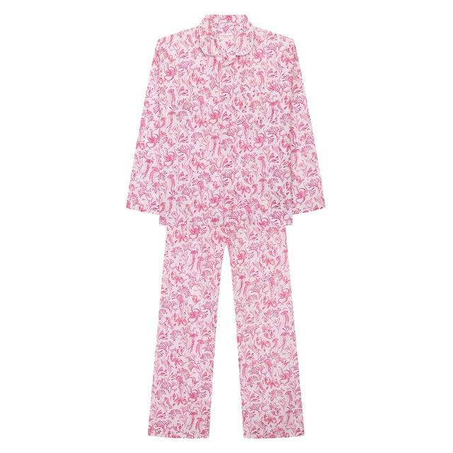Хлопковая пижама Derek Rose.