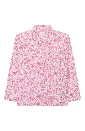 Детская хлопковая пижама DEREK ROSE розового цвета, арт. 7025-LEDB022/3-12 | Фото 2