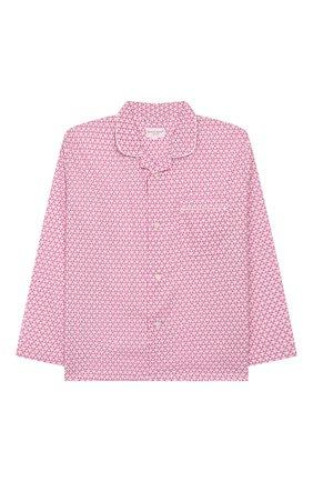 Детская хлопковая пижама DEREK ROSE розового цвета, арт. 7025-LEDB027/3-12 | Фото 2