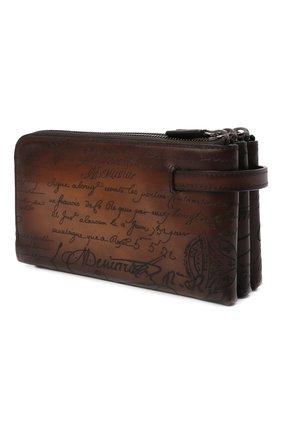 Мужская кожаный футляр для документов BERLUTI светло-коричневого цвета, арт. N135270 | Фото 2