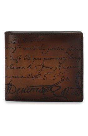 Мужской кожаное портмоне BERLUTI коричневого цвета, арт. N118708 | Фото 1
