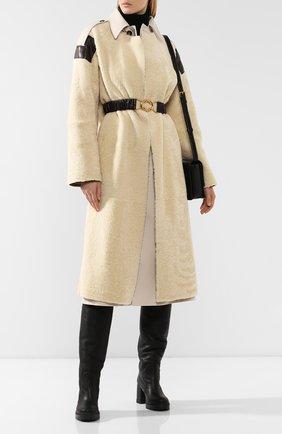 Женские кожаные сапоги CASADEI черного цвета, арт. 1S026N0711CALGA9000 | Фото 2