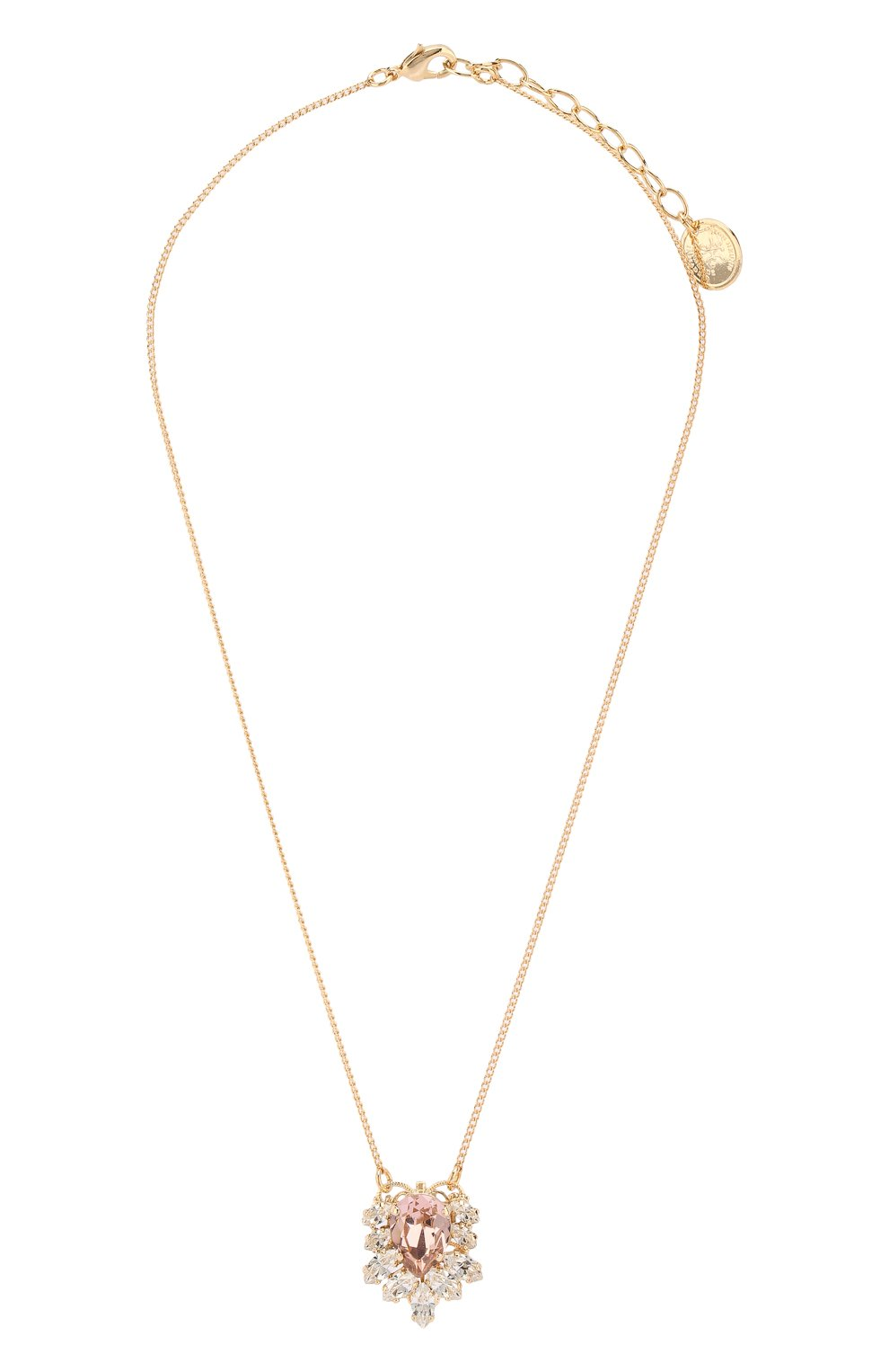 Женское колье ANTON HEUNIS золотого цвета, арт. FLT1.01 | Фото 1