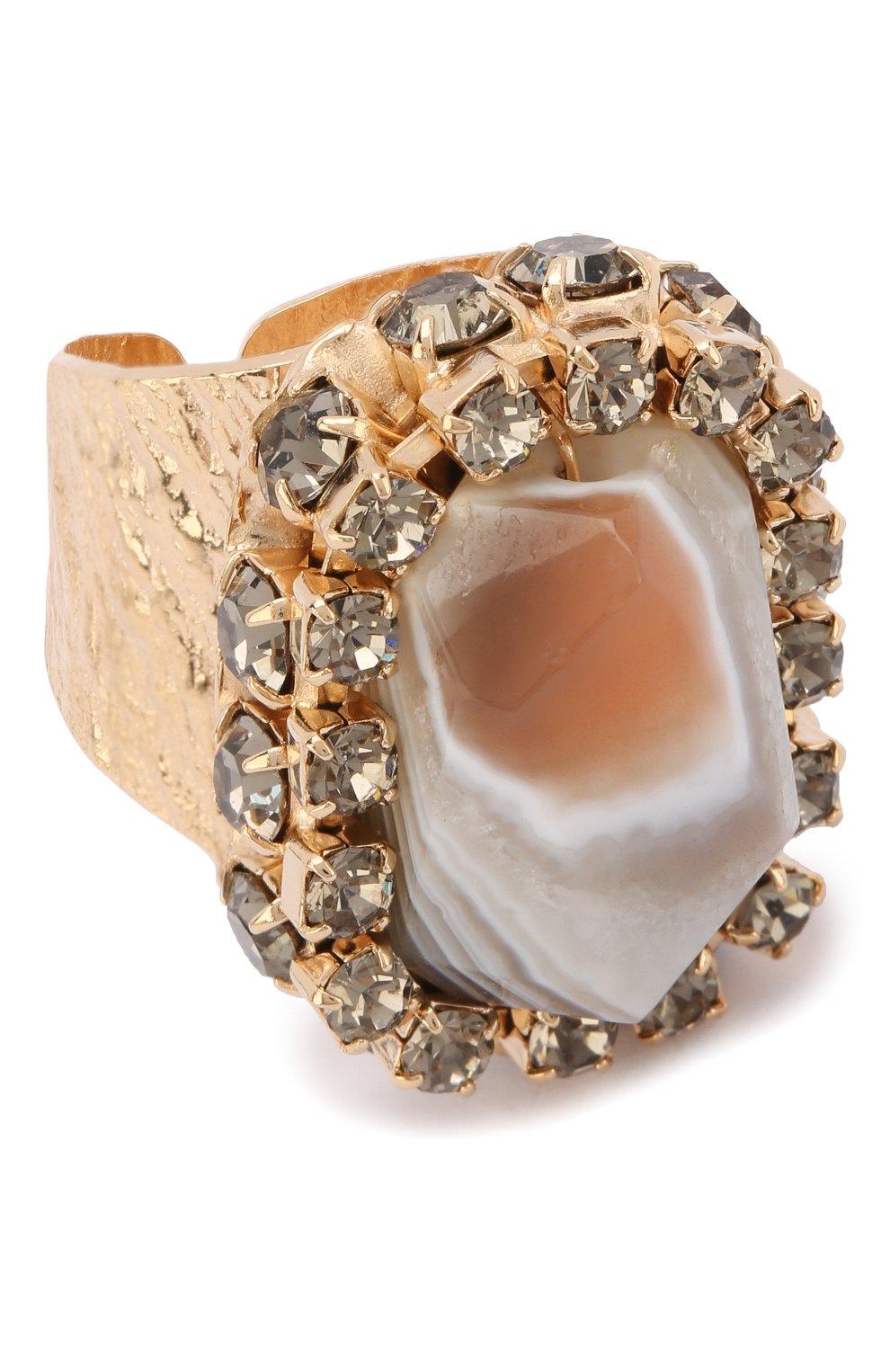 Женское кольцо ANTON HEUNIS золотого цвета, арт. FLT5.03 | Фото 1