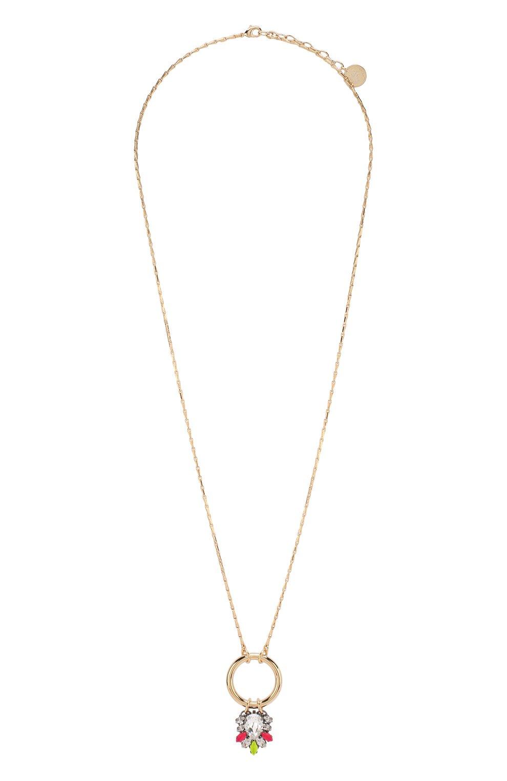 Женское колье ANTON HEUNIS золотого цвета, арт. NGP1.07   Фото 1