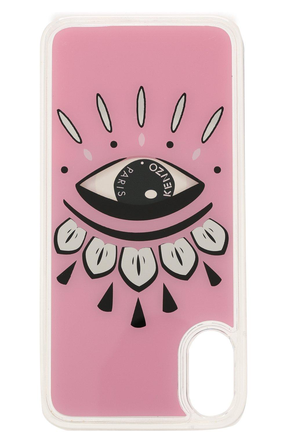 Мужской чехол для iphone xs max KENZO розового цвета, арт. F96C0KXSMBEL | Фото 3