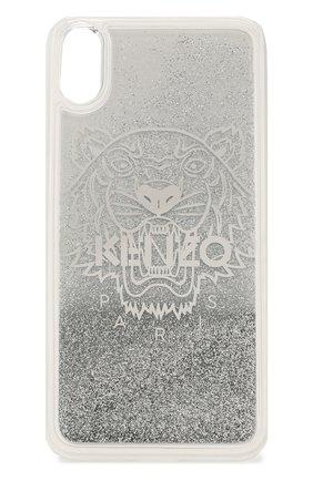 Мужской чехол для iphone xs max KENZO серебряного цвета, арт. F95C0KIXPTIL | Фото 1