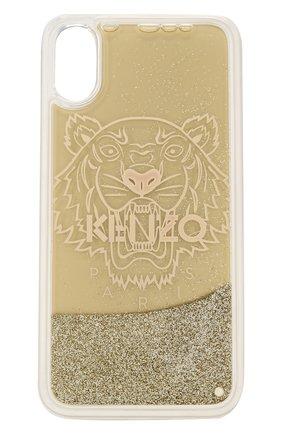 Мужской чехол для iphone x/xs KENZO золотого цвета, арт. F95C0KIFXTIL | Фото 1