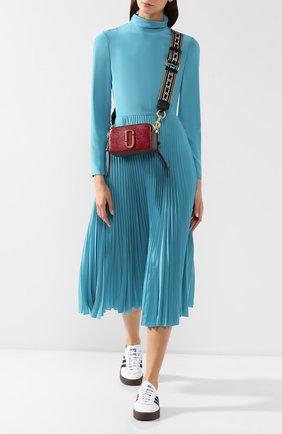 Женская сумка snapshot MARC JACOBS (THE) бордового цвета, арт. M0012007-598 | Фото 2