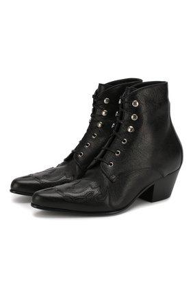 Кожаные ботинки Andy | Фото №1