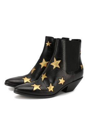 Кожаные ботинки West | Фото №1