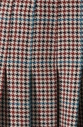 Женская шерстяная юбка OFF-WHITE бежевого цвета, арт. 0WCC080E19F270779900 | Фото 5