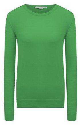 Женская шерстяной пуловер STELLA MCCARTNEY зеленого цвета, арт. 322182/S1735   Фото 1