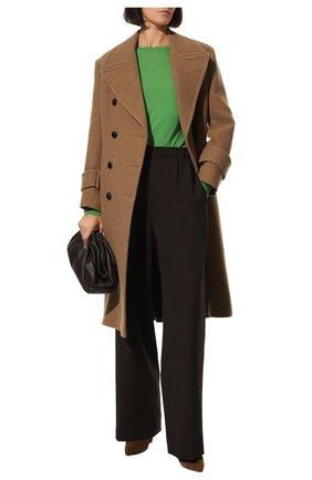 Женская шерстяной пуловер STELLA MCCARTNEY зеленого цвета, арт. 322182/S1735   Фото 2