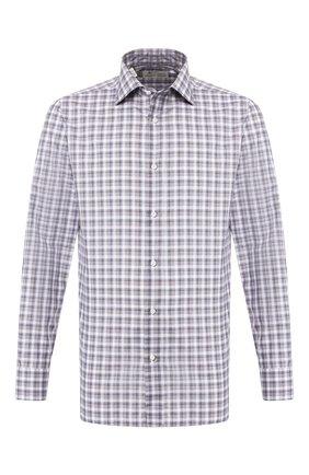 Мужская хлопковая сорочка LUIGI BORRELLI разноцветного цвета, арт. EV08/LUCIAN0/TS8811 | Фото 1