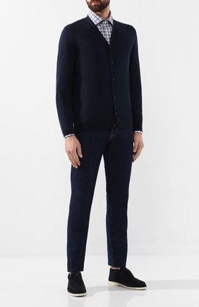 Мужская хлопковая сорочка LUIGI BORRELLI разноцветного цвета, арт. EV08/LUCIAN0/TS8811 | Фото 2
