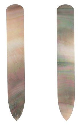 Перламутровые пластины для воротника рубашки | Фото №2