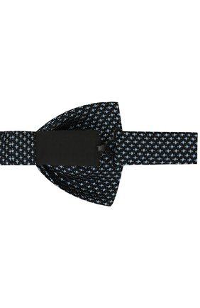 Мужской галстук-бабочка BOSS синего цвета, арт. 50419541   Фото 3