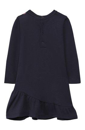 Женский хлопковое платье MARC JACOBS (THE) темно-синего цвета, арт. W02129 | Фото 2