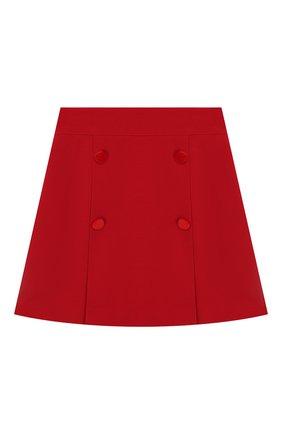 Детская юбка DAL LAGO красного цвета, арт. R378/8111/7-12 | Фото 1