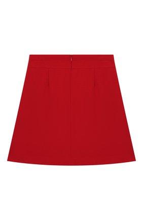 Детская юбка DAL LAGO красного цвета, арт. R378/8111/7-12 | Фото 2