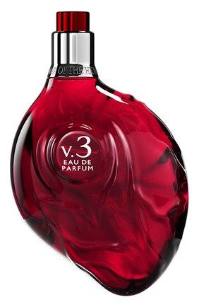 Женский парфюмерная вода red heart v.3 MAP OF THE HEART бесцветного цвета, арт. 9348939000151 | Фото 1