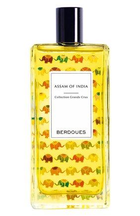 Парфюмерная вода assam of india BERDOUES бесцветного цвета, арт. 3331849002434 | Фото 1