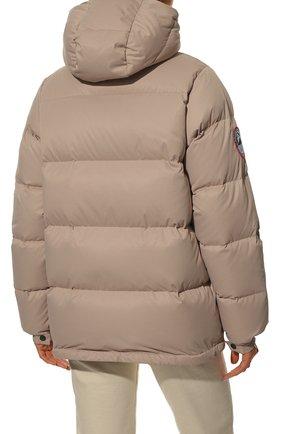 Женский пуховая куртка fanat ARCTIC EXPLORER бежевого цвета, арт. FANAT_LATTE_W | Фото 4