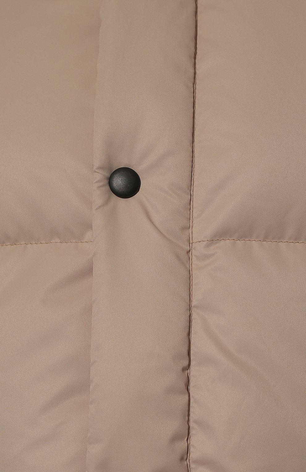 Женский пуховая куртка fanat ARCTIC EXPLORER бежевого цвета, арт. FANAT_LATTE_W | Фото 5