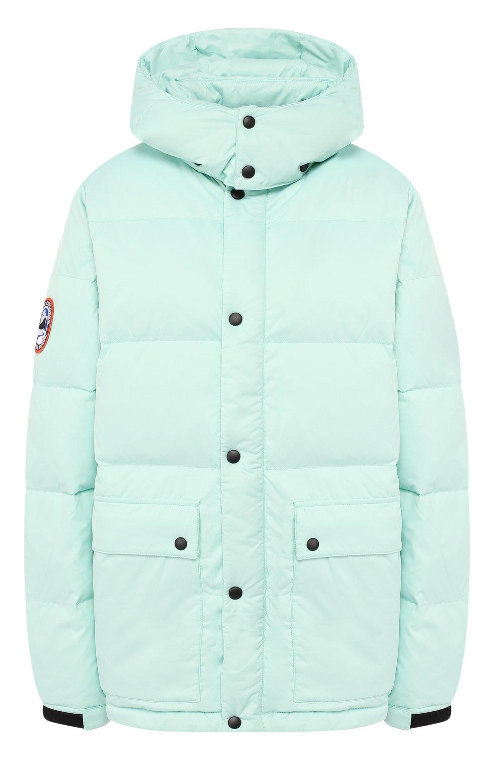 Женский пуховая куртка fanat ARCTIC EXPLORER зеленого цвета, арт. FANAT_MINT_W | Фото 1