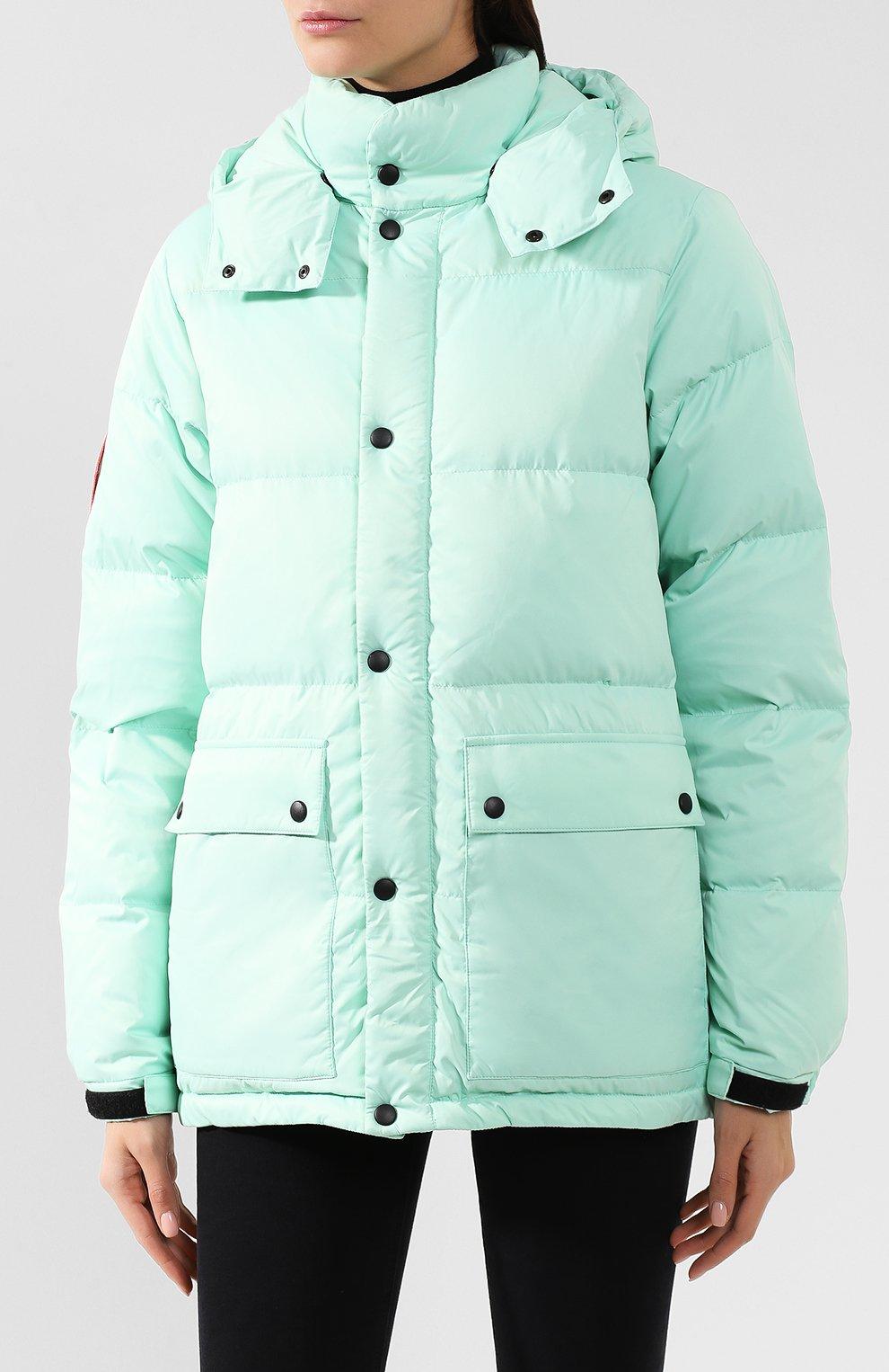 Женский пуховая куртка fanat ARCTIC EXPLORER зеленого цвета, арт. FANAT_MINT_W | Фото 3