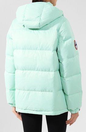 Женский пуховая куртка fanat ARCTIC EXPLORER зеленого цвета, арт. FANAT_MINT_W | Фото 4