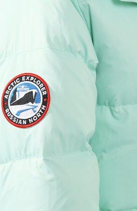 Женский пуховая куртка fanat ARCTIC EXPLORER зеленого цвета, арт. FANAT_MINT_W | Фото 5