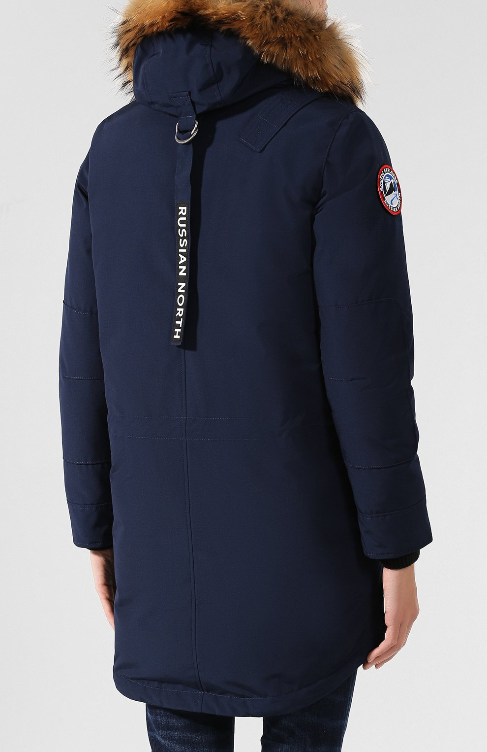 Женский пуховик chill ARCTIC EXPLORER синего цвета, арт. CHILL_NAVY_W | Фото 4