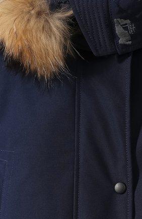 Женский пуховик chill ARCTIC EXPLORER синего цвета, арт. CHILL_NAVY_W | Фото 5