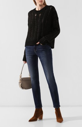 Женский свитер из хлопка и шерсти UMA WANG темно-серого цвета, арт. A9 M UK7194 | Фото 2