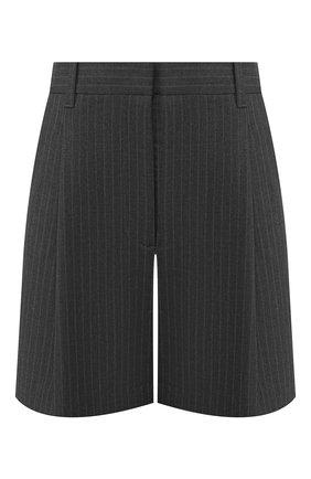 Женские шорты с завышенной талией 3.1 PHILLIP LIM серого цвета, арт. S191-5408VPP | Фото 1