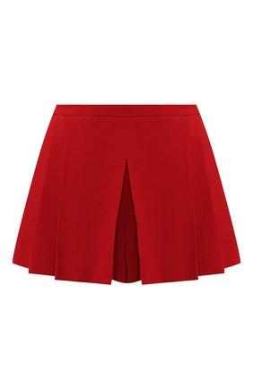 Женские шорты с защипами REDVALENTINO красного цвета, арт. SR3RF115/2EU | Фото 1