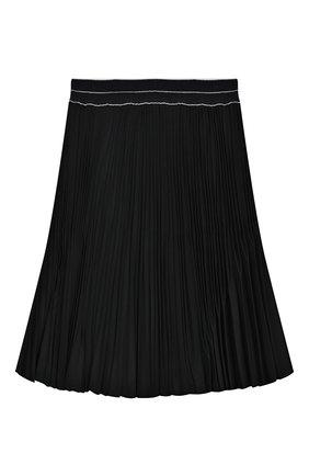 Детская плиссированная юбка ALETTA темно-синего цвета, арт. AF999337LL/4A-8A | Фото 2