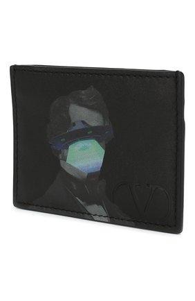 Кожаный футляр для кредитных карт Valentino Garavani x Undercover UFO Face   Фото №2