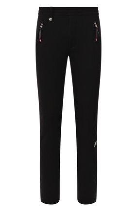 Мужской хлопковые брюки ALEXANDER MCQUEEN черного цвета, арт. 582928/QNX43 | Фото 1